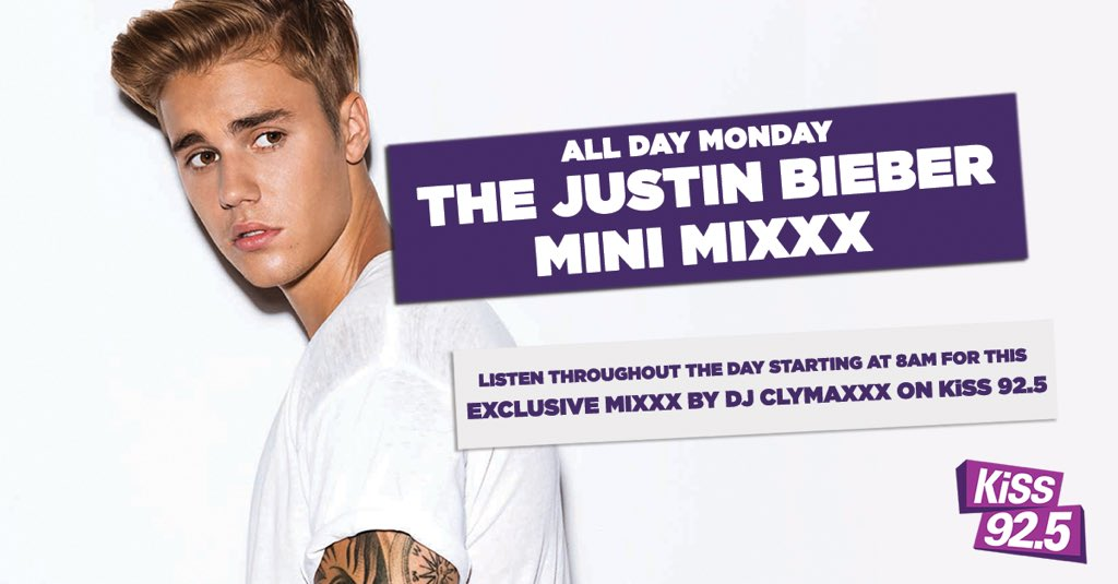@JBCrewdotcom It's all about the music! Catch the exclusive JB Mini-Mixxx Monday at 8 am on @KiSS925 #PurposeInTO https://t.co/UqWRSjfxvP