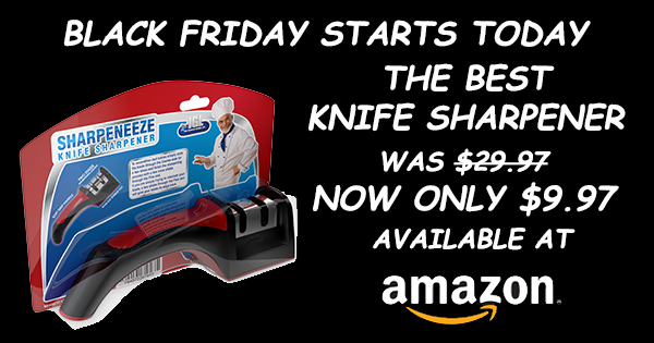 AMAZON BLACK FRIDAY SALE STARTS TODAY - BEST KNIFE SHARPENER https://t.co/NntLAEH8D6 https://t.co/ujHaBhewEv