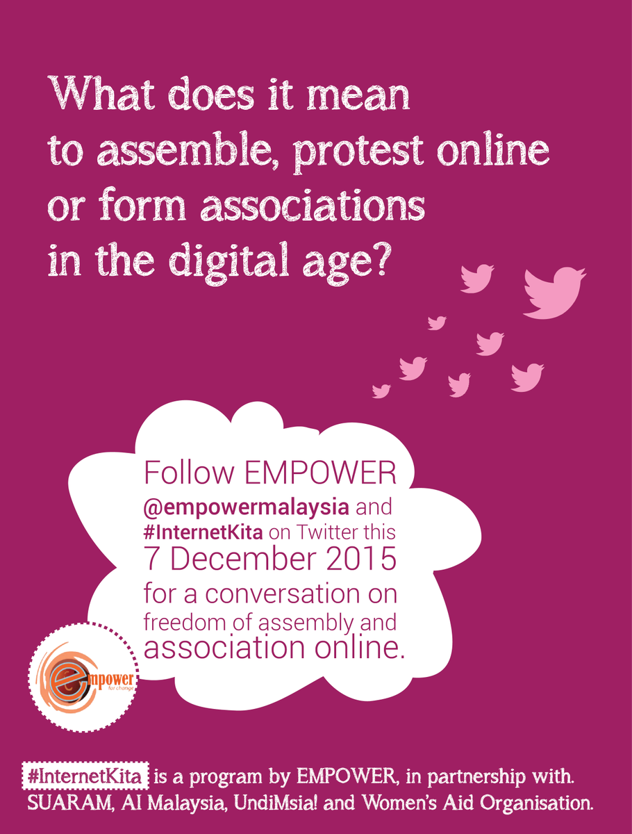 New frontiers of #humanrights & #internet: #FOAA online. How does THAT work?Follow us,comment,chat! #InternetKita https://t.co/udd3n0M9nw