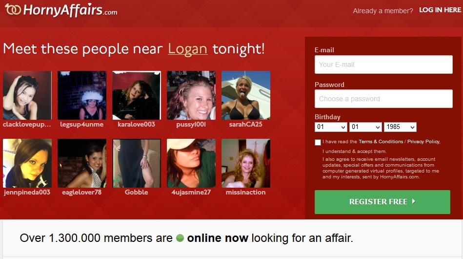 Horny affairs com