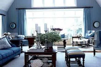 Home Interior Design And Decoration Blue Color Is Perfect And Elegant,, ...
