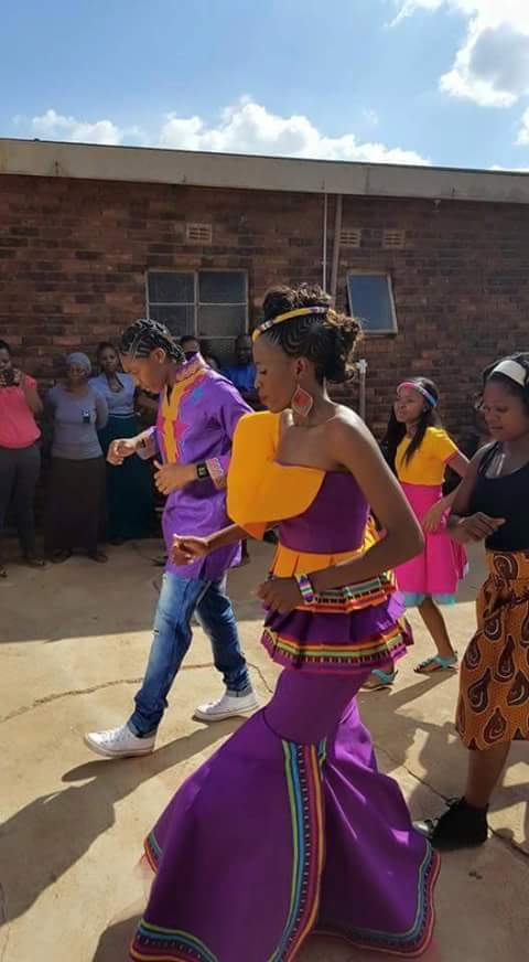 Caster Semenya Pictured In A Traditional Wedding With Longtime Girlfriend