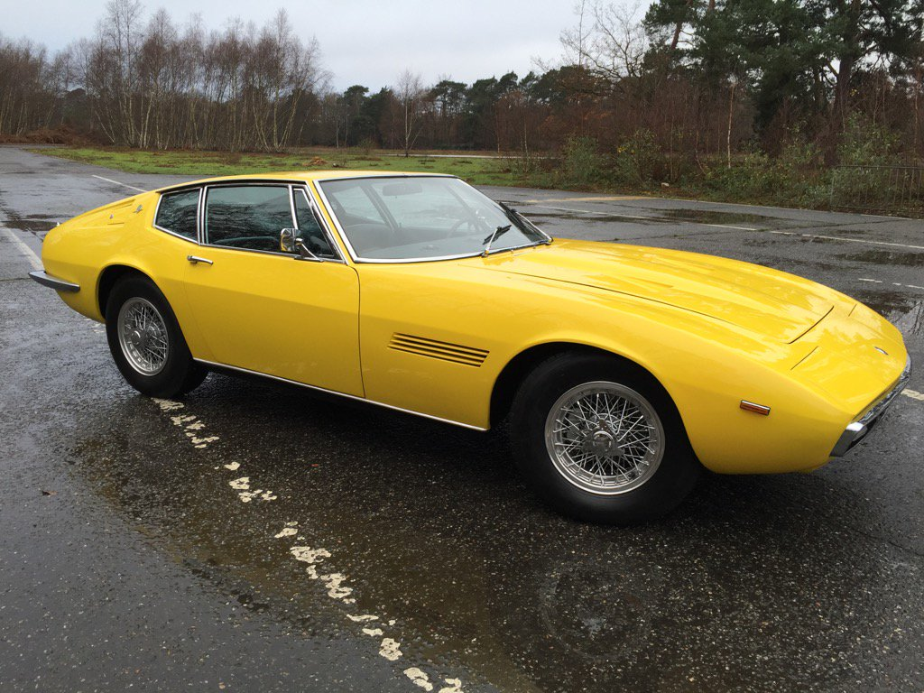 Quentin Willson On Twitter Brit Eklands Maserati Ghibli - Cool cars quentin willson