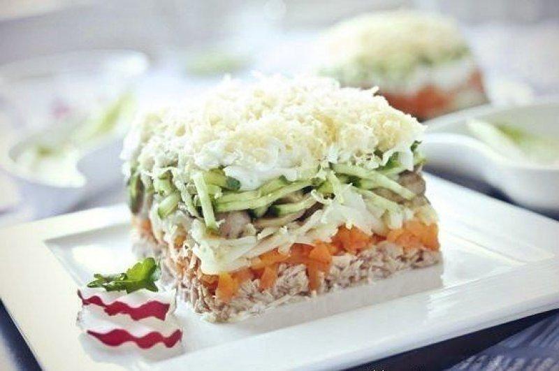 Лисья шуба салат рецепт с красной