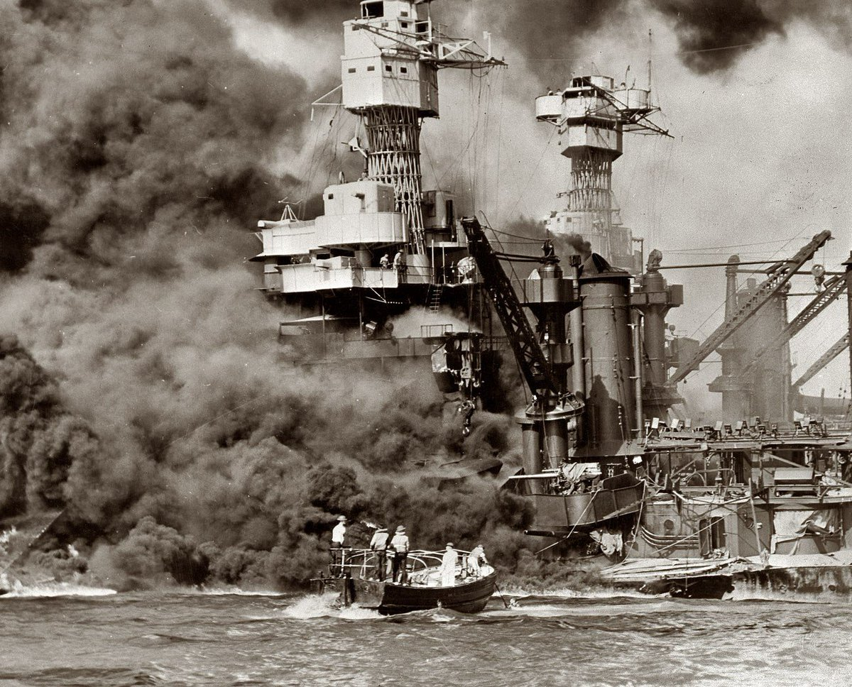 Don't ever forget. December 7, 1941 #PearlHarborRemembrance https://t.co/i7Z47THbsc