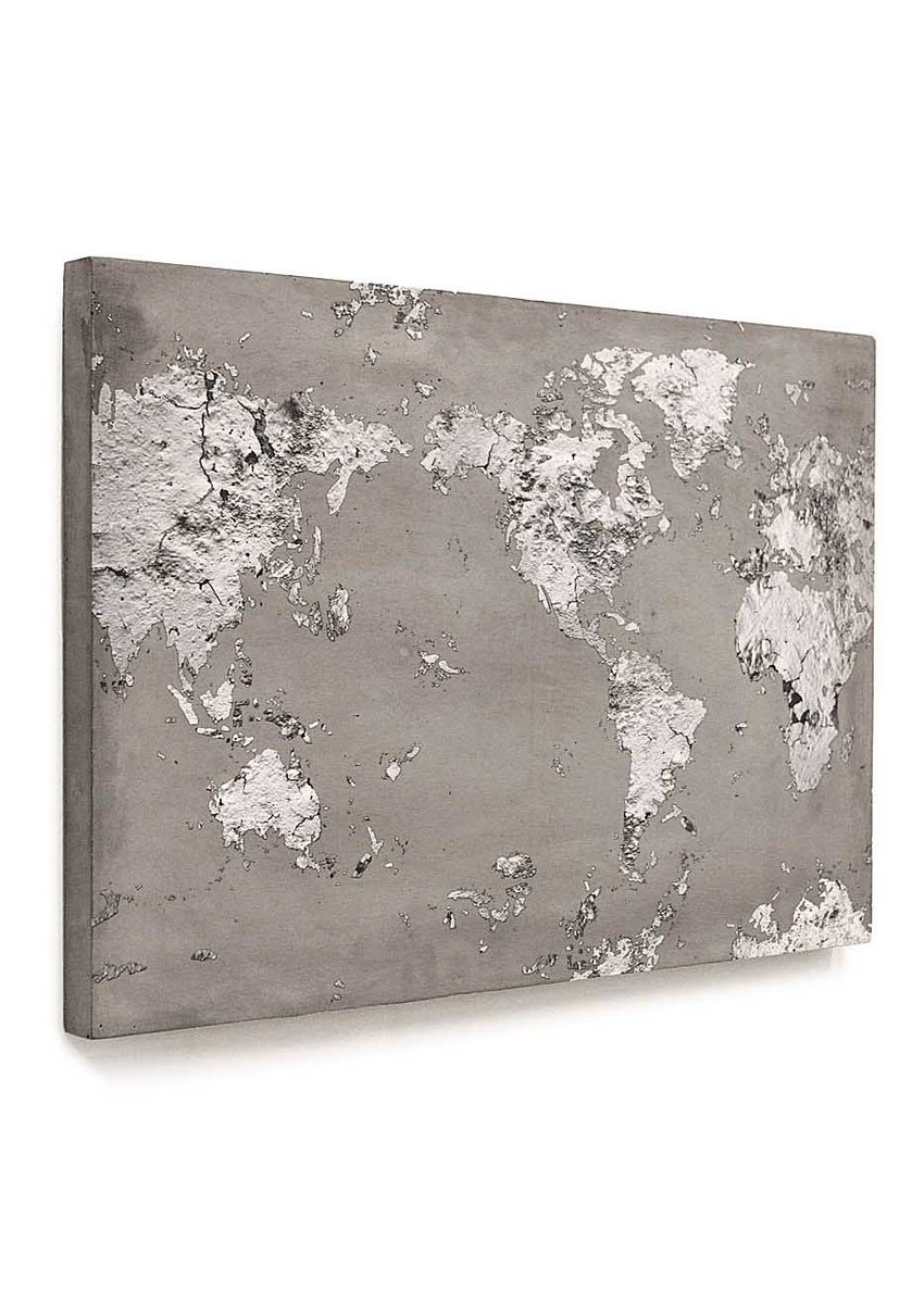 Lime lace interiors on twitter luxurious concrete world map print lime lace interiors on twitter luxurious concrete world map print from lyon beton interiors gifts travel concrete art httpstx6pbzux2yj gumiabroncs Image collections