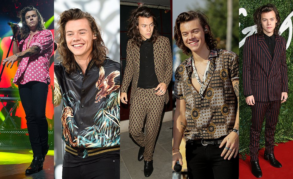 From @CalvinKlein​ to @gucci​, see the best of @Harry_Styles in 20 looks: https://t.co/EE4GPk2io1 https://t.co/tkrpbHyGvN