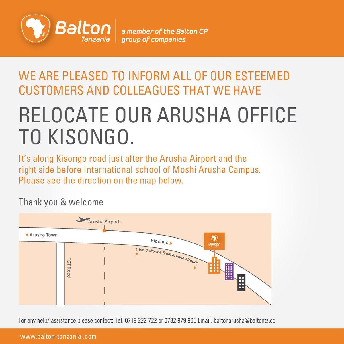 Balton Tanzania Ltd (@BaltonTanzania)   Twitter