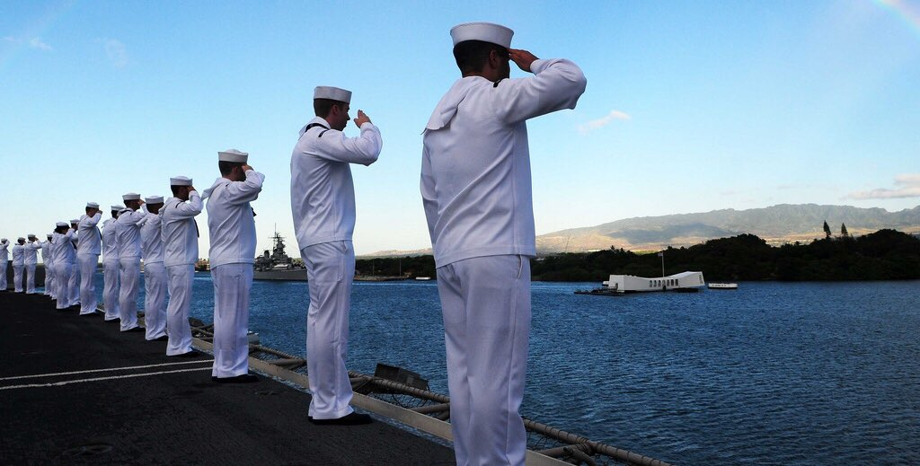 Survivors recount one of the darkest days in American history https://t.co/tHZC3ZEGW3 #PearlHarbor Remembrance Day https://t.co/4jwk0TW20b