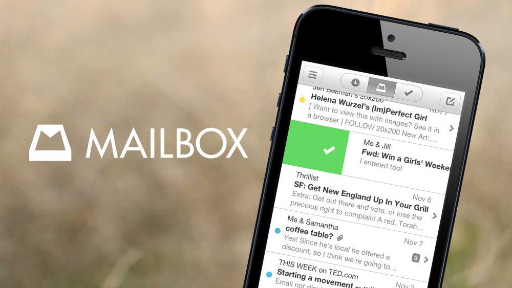 Tre valide alternative a Mailbox di Dropbox
