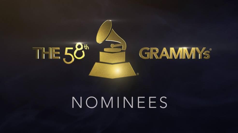 nominados a los Premios Grammy 2016 -2