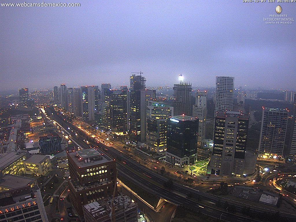 Un nublado amanecer hoy en la ciudad de m xico cdmx - Temperatura actual ferrol ...