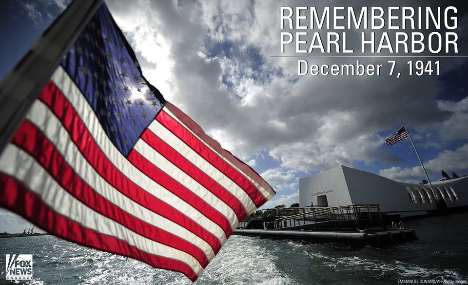 'A date which will live in infamy.' 74 years later, we honor their sacrifice. #PearlHarbor