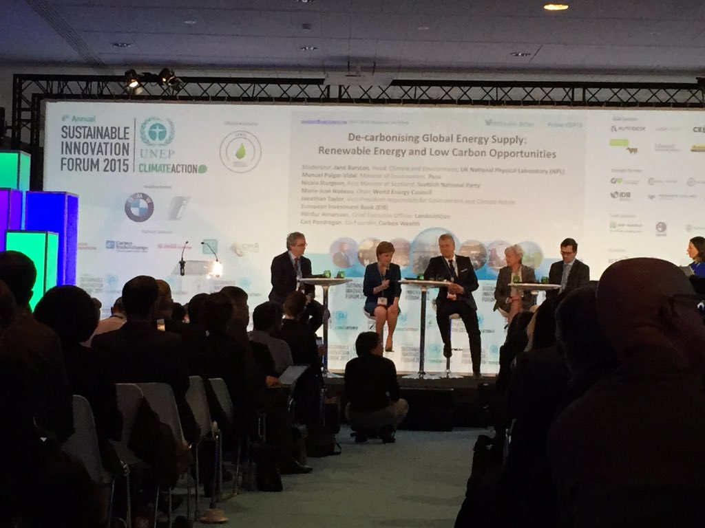 MT @StanKrpan: #Scotland's @NicolaSturgeon: Why energy efficiency is national infrastructure priority #SIF15 #COP21 https://t.co/qM9q267L5R