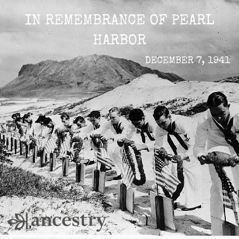 Today we remember those who lost their lives in the attack on #PearlHarbor on December 7, 1941. https://t.co/BaXfaZrQxe