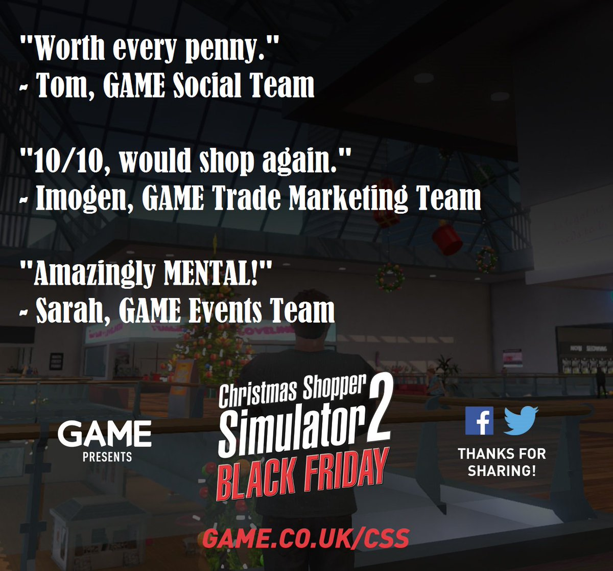 gamecouk on twitter the christmas shopper simulator 2 black friday reviews are in behold their mediocrity gamecss httpstcompwugz37nb