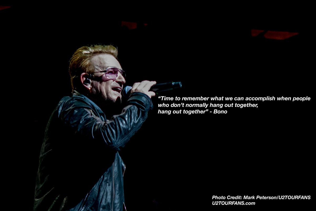 We believe in mankind and that peace will succeed one by one #U2ForParis https://t.co/VxWFdFIiv4