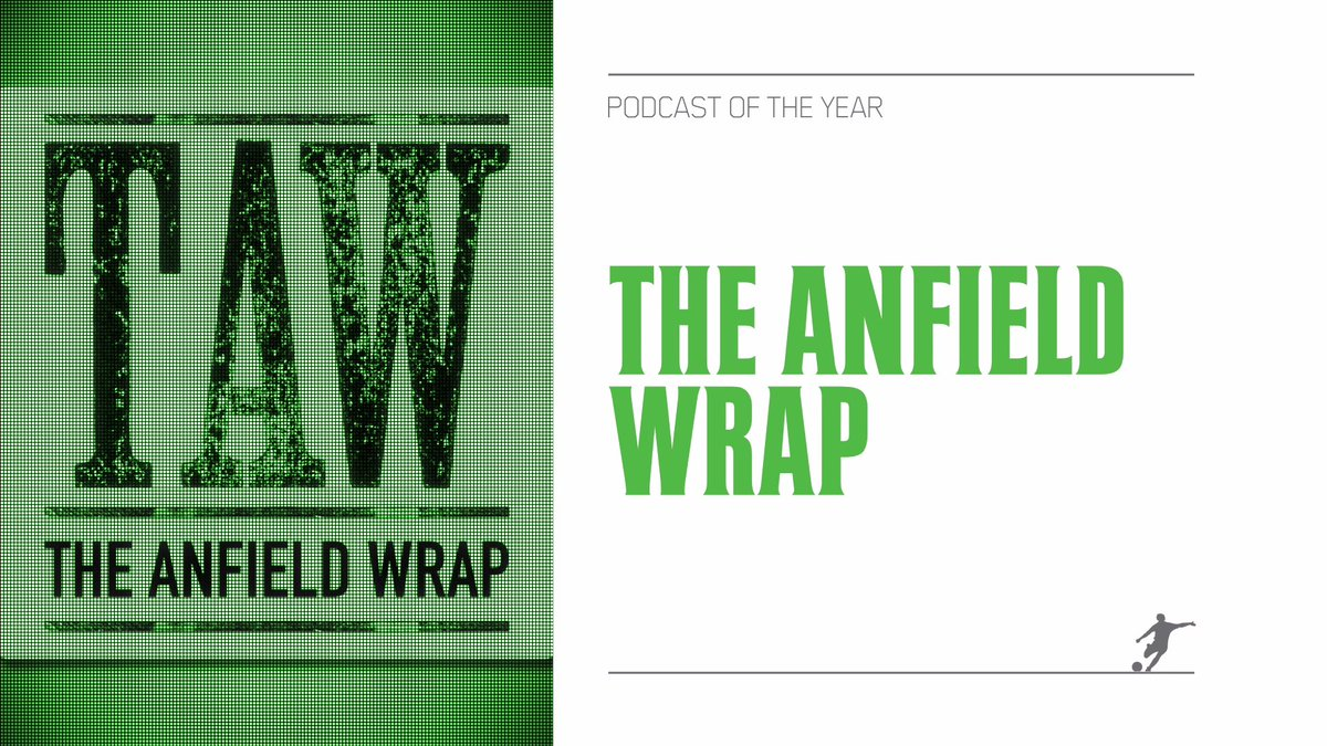 And the winner of @The_FSF Podcast of the Year is – The Anfield Wrap @TheAnfieldWrap #FSFAwards https://t.co/c0YAeVNsjn