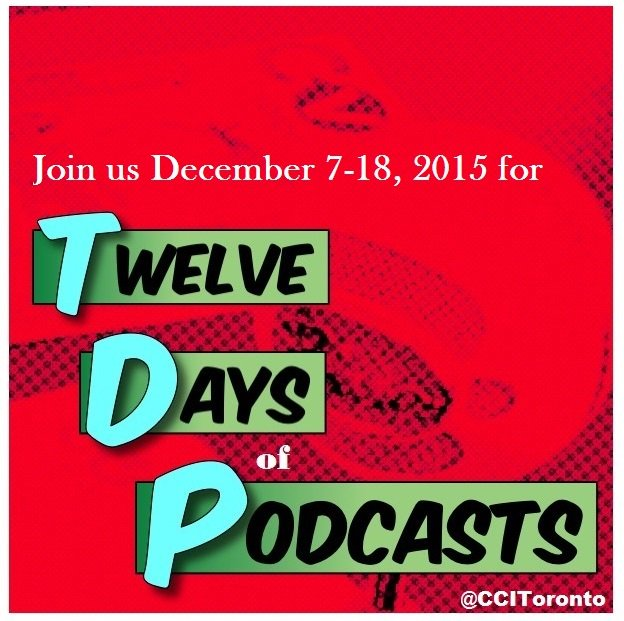 Thumbnail for Twelve Days of Podcasts