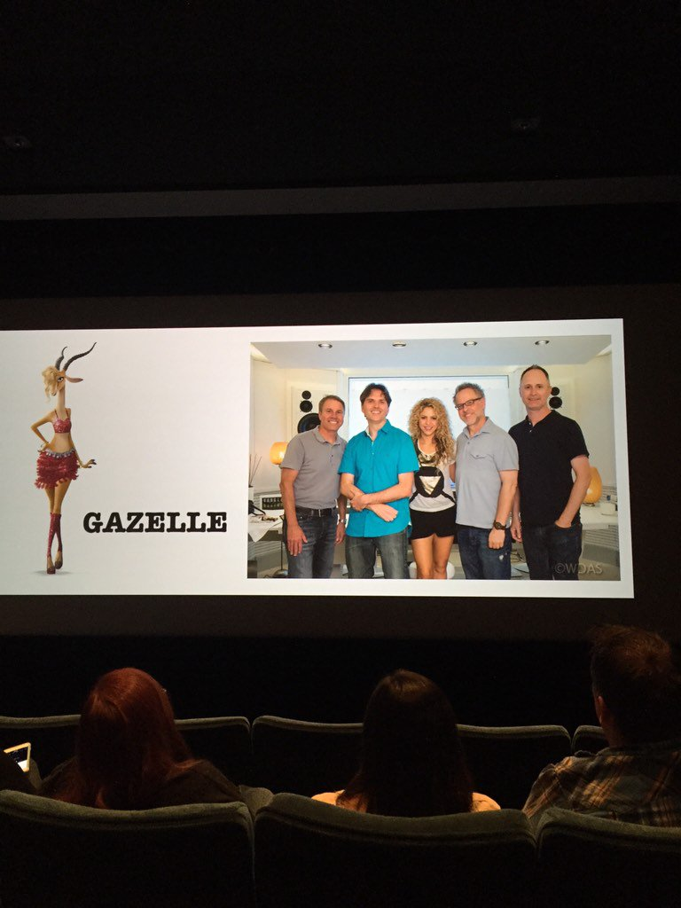 "So awesome!! Just heard the new song ""Try Everything"" from #Shakira as Gazelle in #Zootopia! So good! #StarWarsEvent https://t.co/sBEKyXLrVL"