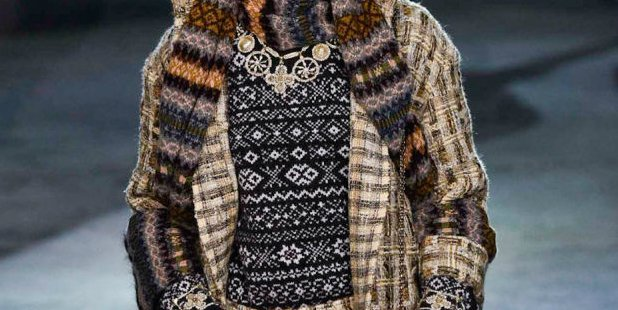 "Fashionista.com on Twitter: ""Whoa: Did Chanel copy these Fair Isle ..."