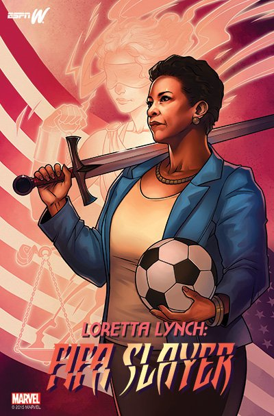 From @espnW and @Marvel, the Super Impact 25 Women in Sports list, featuring @LorettaLynch https://t.co/alO6qOZpYy
