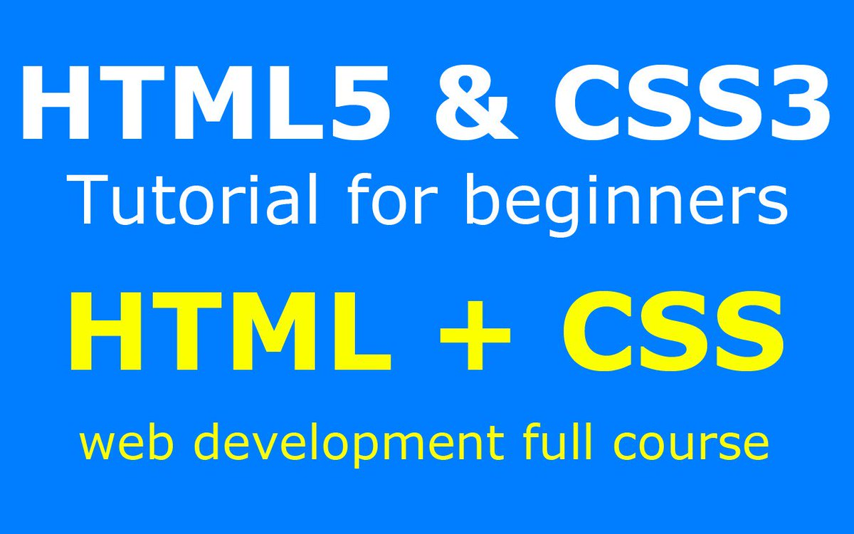 html5andcss3 hashtag on Twitter