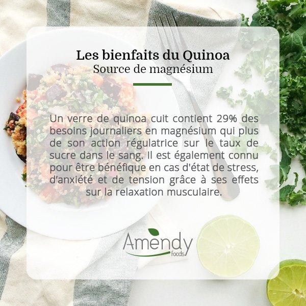 amendy foods on twitter une source importante du magn sium d couvrez les bienfaits du quinoa. Black Bedroom Furniture Sets. Home Design Ideas