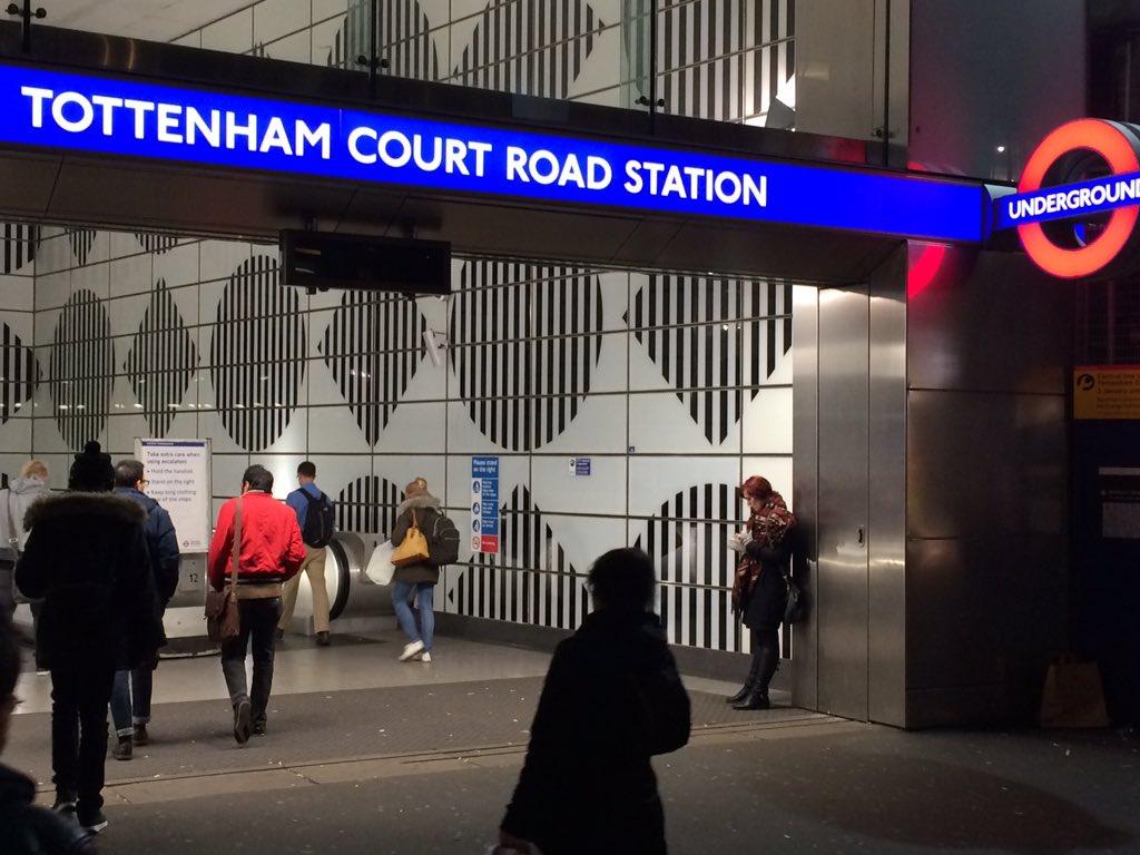Peterkentinformation On Twitter Tottenham Court Road Station Looking Good Daniel Buren Hawkins Brown So Glad It Is Open Https T Co Hq8qyslx95