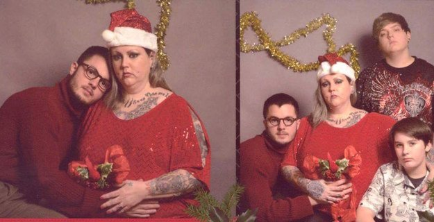 0 replies 1 retweet 0 likes - Awkward Christmas Family Photos