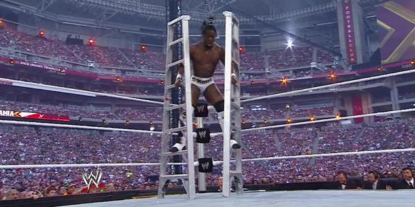 When you claim you don't need ladders. @TrueKofi #RAW https://t.co/ZZnC0siNhm