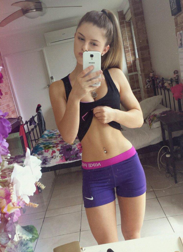 Teen girl self pic — img 3