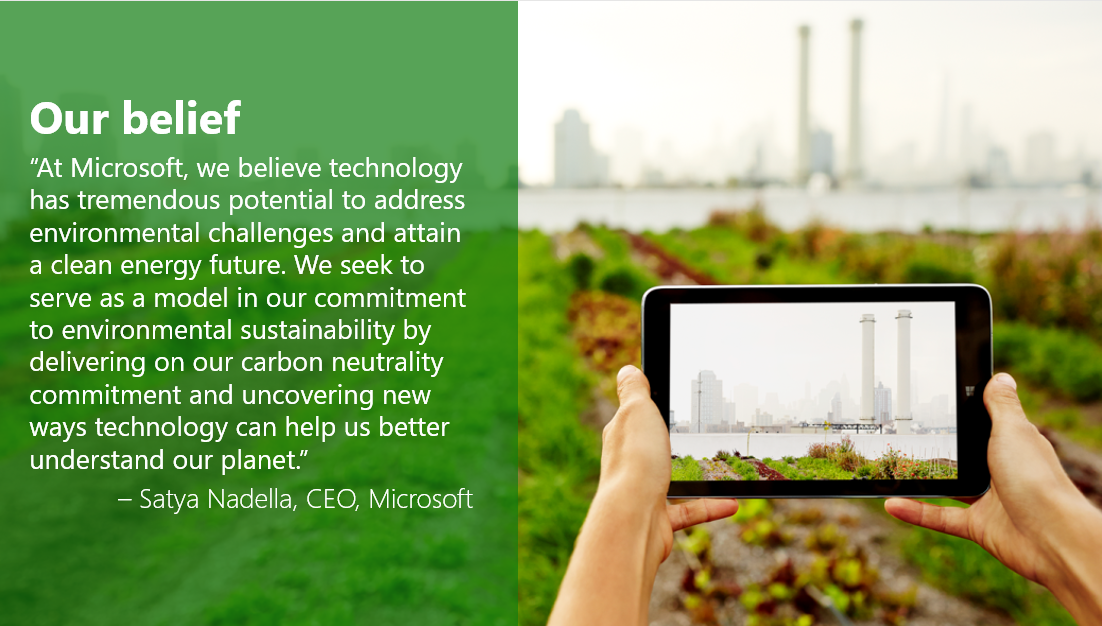 .@Microsoft's Chief Environmental Strategist Rob Bernard keynotes @Bellona_EU event on #greentech at #COP21 https://t.co/u0Rth727rb