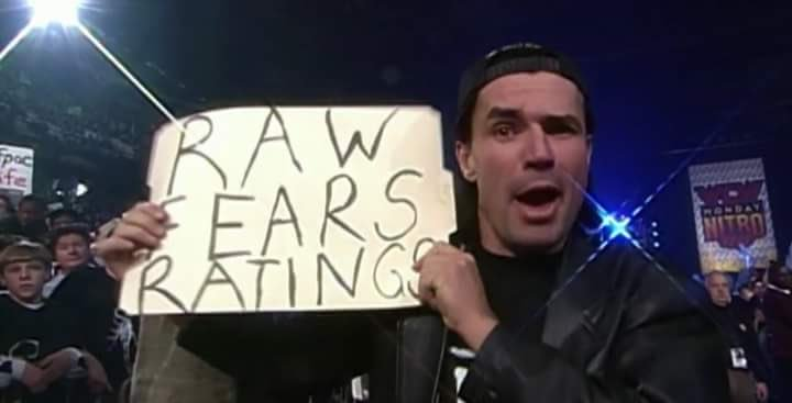 Thoughts on RAW(besides New Day) in 1 picture from WCW  CVrLUQAUEAAjEgn