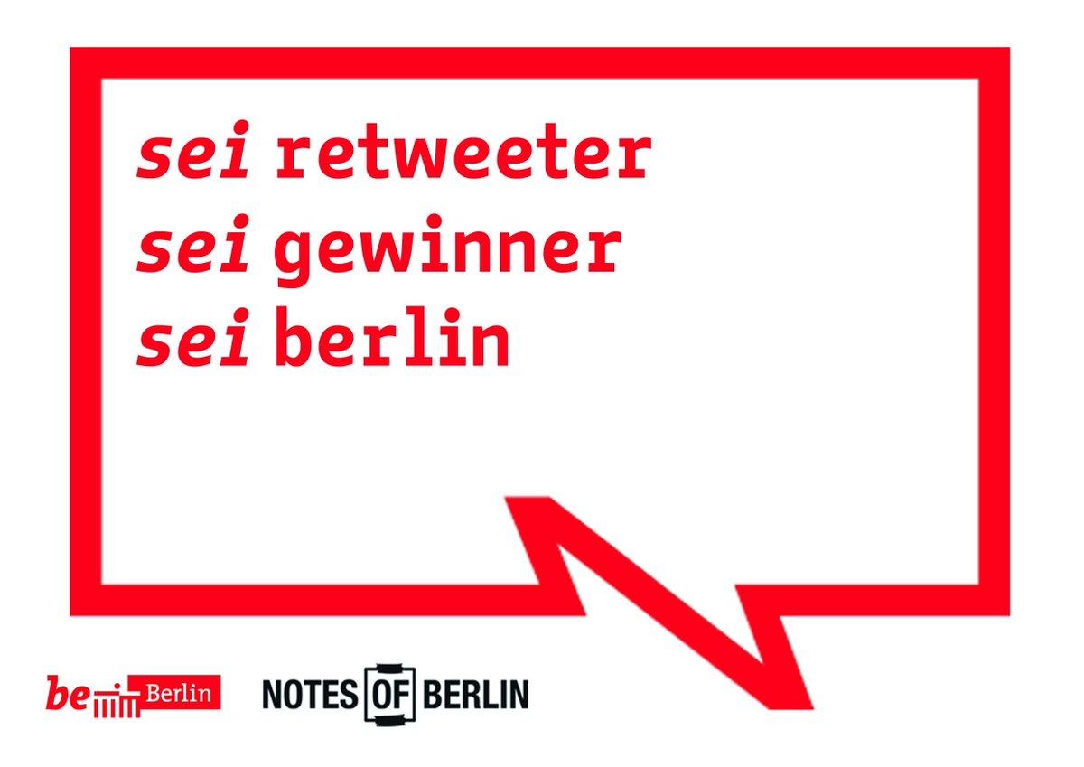Geschenke! Beitrag retweeten und 1 von 5 @notesofberlin Büchern gewinnen! Alle Infos: https://t.co/R75W9vrAct https://t.co/DdY1pzdoDS