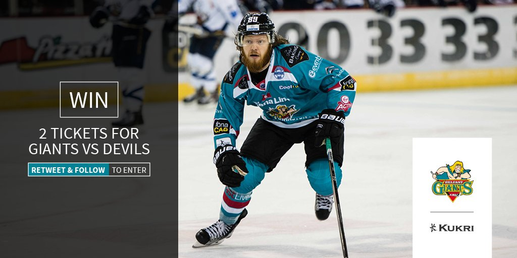 COMPETITION - Win 2 tickets to @BelfastGiants vs Cardiff Devils, 23rd Dec. RT & follow to enter. Closes 9am 15th Dec https://t.co/OMpHEizy5S