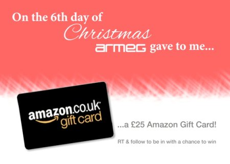Follow & RT for your chance to #win a £25 @AmazonUK gift card! #12DaysOfChristmas https://t.co/l13hPOWEUC