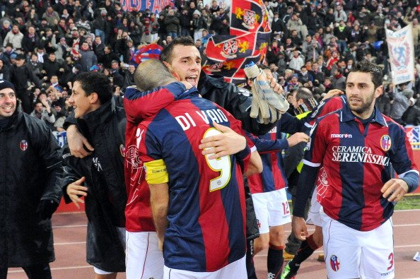 8 dicembre 2010, Bologna-Chievo: @divaio9 firma il 2-1 al 93' e sale in vetta alla classifica dei cannonieri