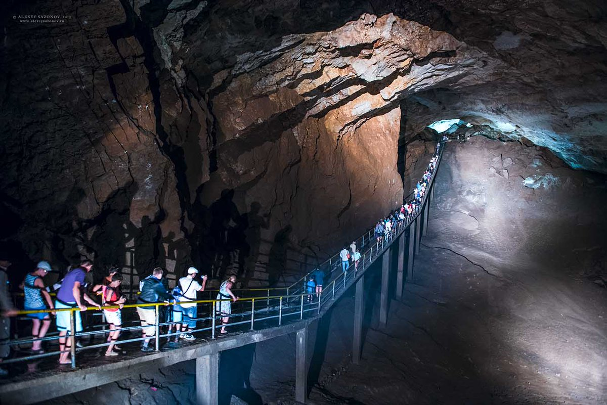 Картинка новоафонская пещера