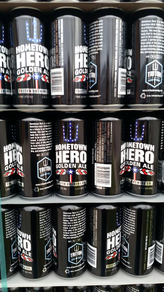 Our first shipment of cans have arrived! Coming to retailer early 2016! #ForkingAwesome #BreweryLife https://t.co/LUQ3YpTGlU