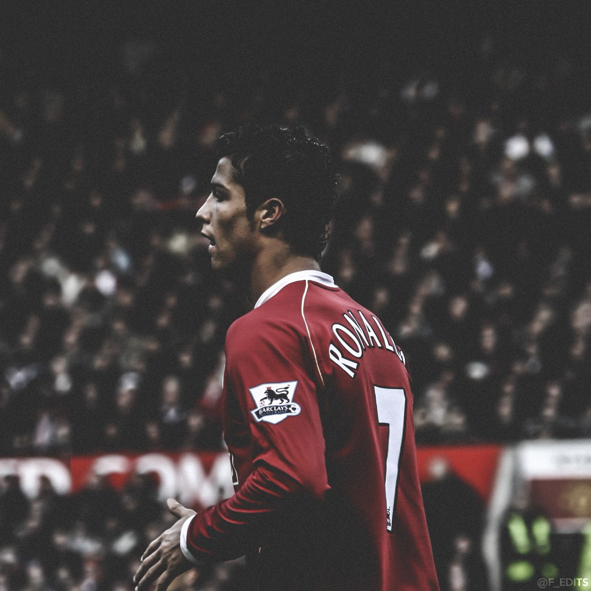 Fredrik On Twitter A Young Cristiano Ronaldo Mufc Iphone Wallpaper And Icon Https T Co F0bauurpgl