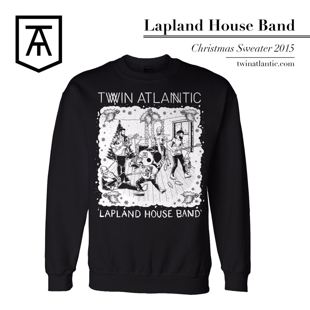 any festive twin atlantic fans out there - Band Christmas Sweaters