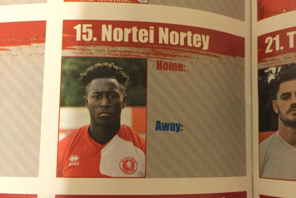 RT @FreddieNathan: The best footballer's name of all time? Step forward this Welling United player... https://t.co/zQSFD6vlBY