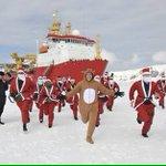 イェアアアア!!イギリス海軍のクリスマスが陽気!