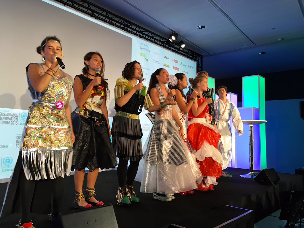If you missed the @GreenSchoolBali musical performance at #SIF15, enjoy a clip here: https://t.co/o1byalRLq3  #COP21 https://t.co/wupC7CDTmI