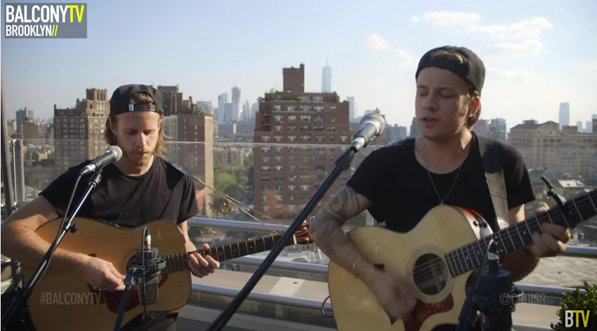Watch @CRUISR perform 'All Over' for @BalconyTV on our rooftop.   https://t.co/0VfnNzi1II https://t.co/luGhSEApqn