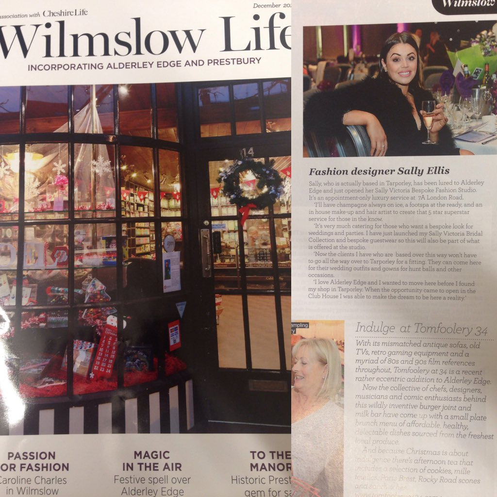 Nice to see Sve again in @WilmslowLife @cheshirelife