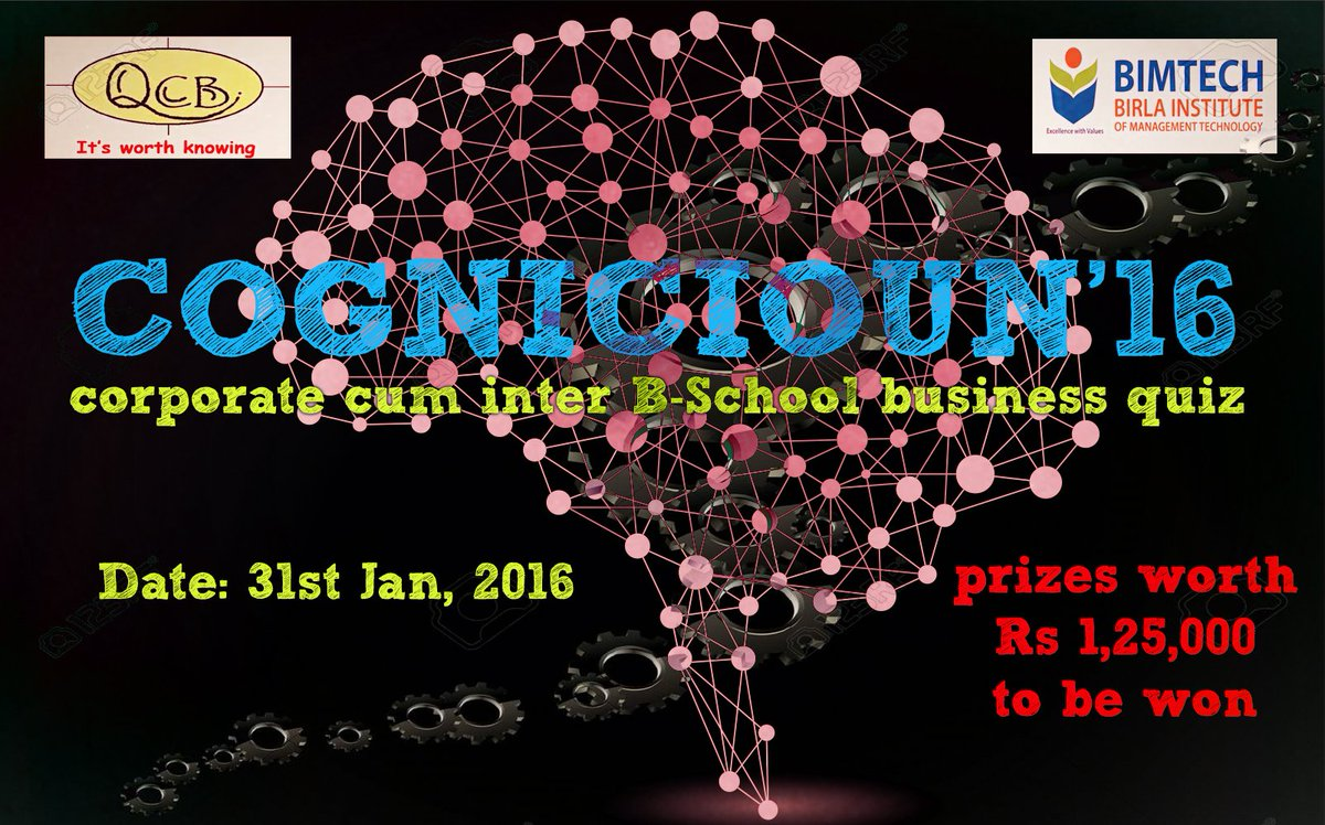 Qcb on twitter greeting to all qcb bimtech is organising a qcb on twitter greeting to all qcb bimtech is organising a national level corporate cum inter college quiz event cognicioun16 kristyandbryce Image collections