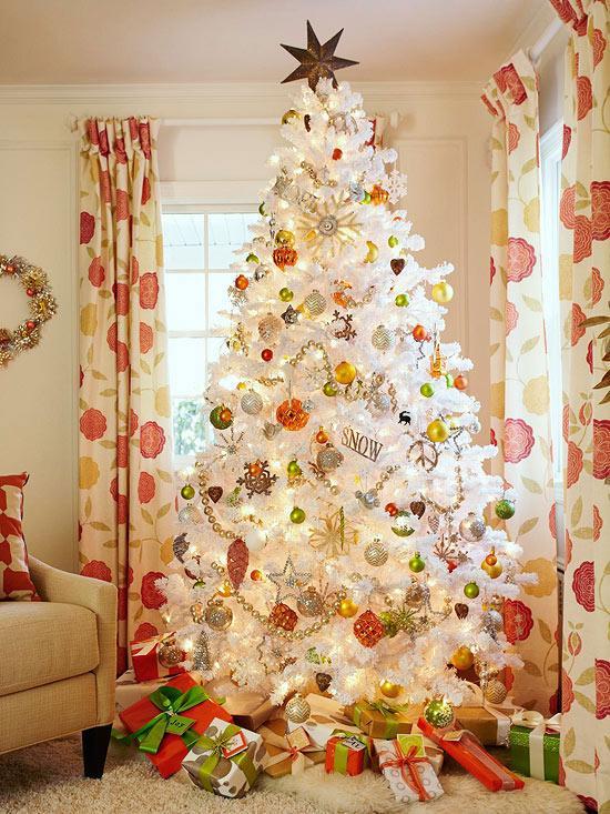 Stanhome venezuela on twitter los rboles de navidad de color blanco son la moda este a o con - Arbol de navidad blanco ...