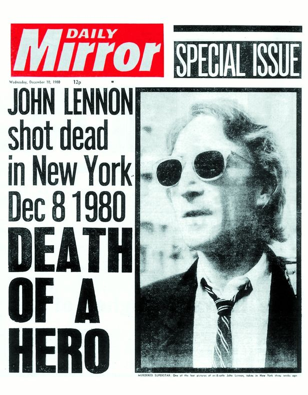 December 8 1980: The end of the innocence. #JohnLennon https://t.co/1AfegW7B5J